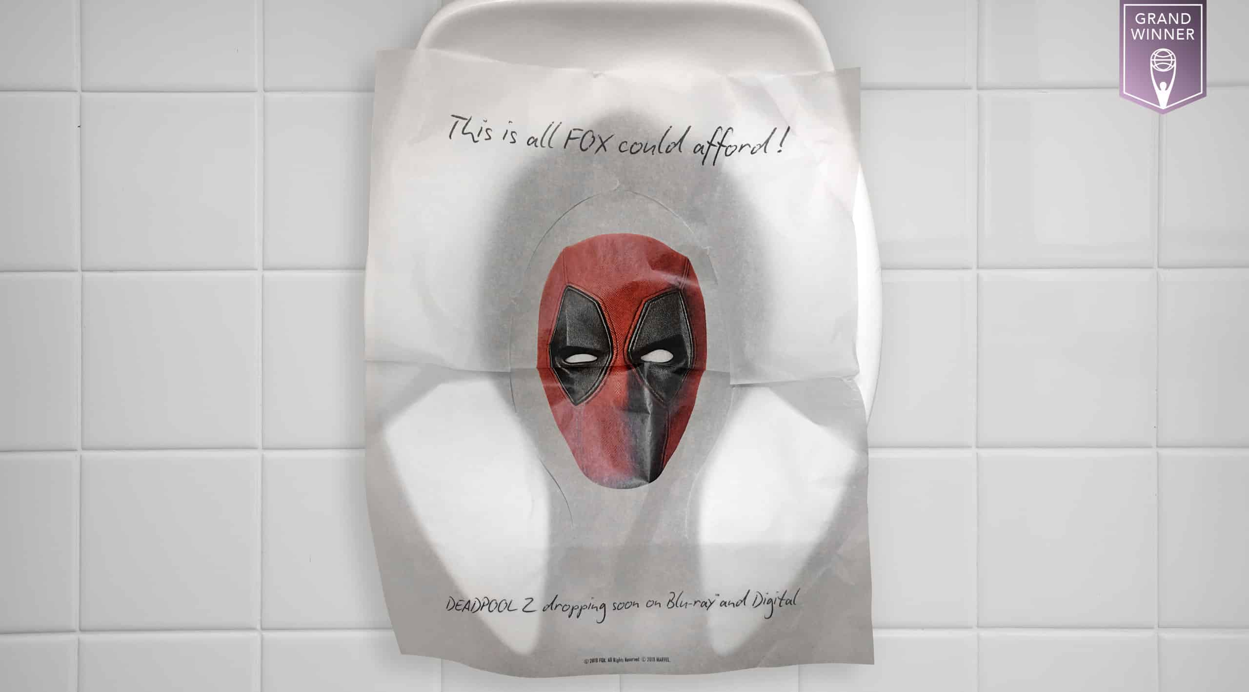 Stupendous Deadpool 2 Toilet Seat Cover Neuron Syndicate Inc Evergreenethics Interior Chair Design Evergreenethicsorg