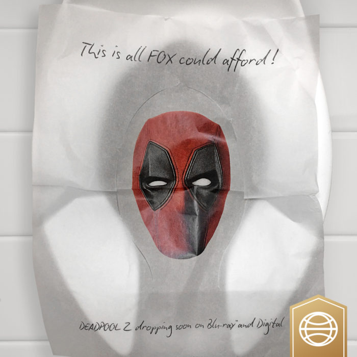 Deadpool 2 Toilet Seat Cover